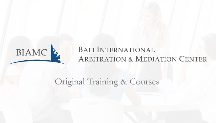 BIAMC International Arbitration Certification Course